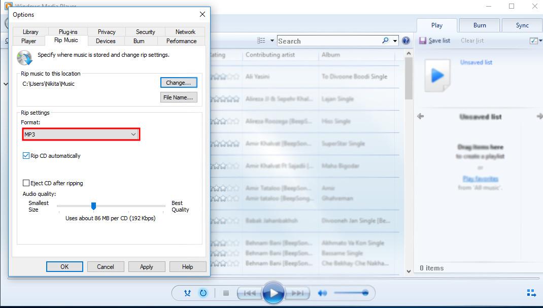 چگونه فایل های .cda را به mp3 تبدیل کنیم ؟